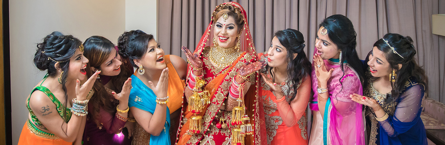 Hindu wedding photographers in delhi, india