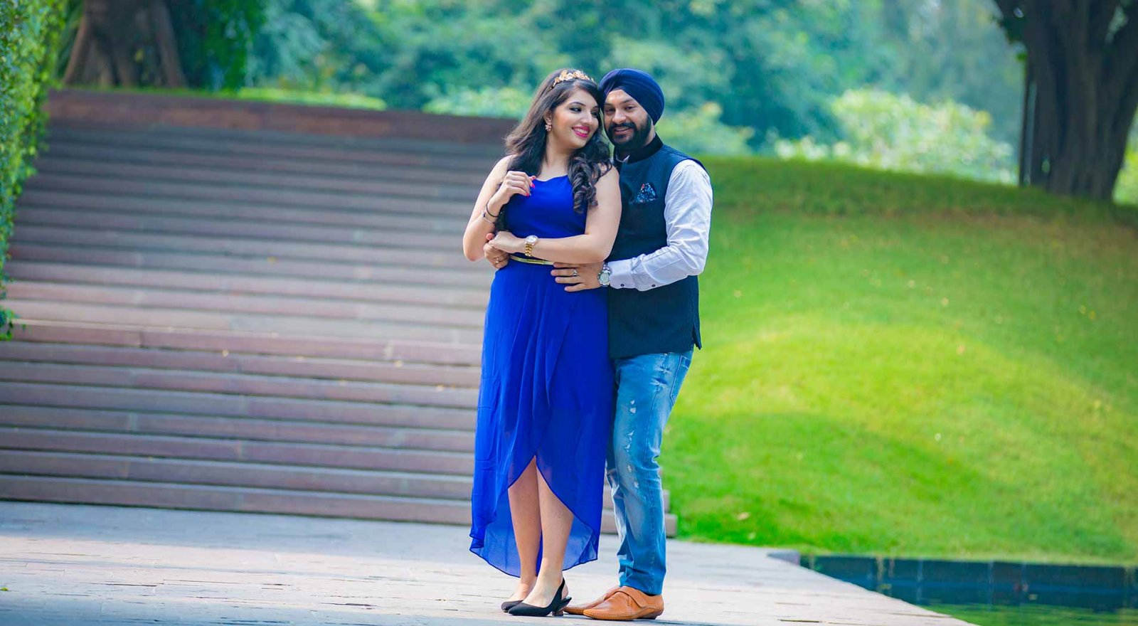 The best pre wedding photography ideas in Sahib and Harnoor photoshoot